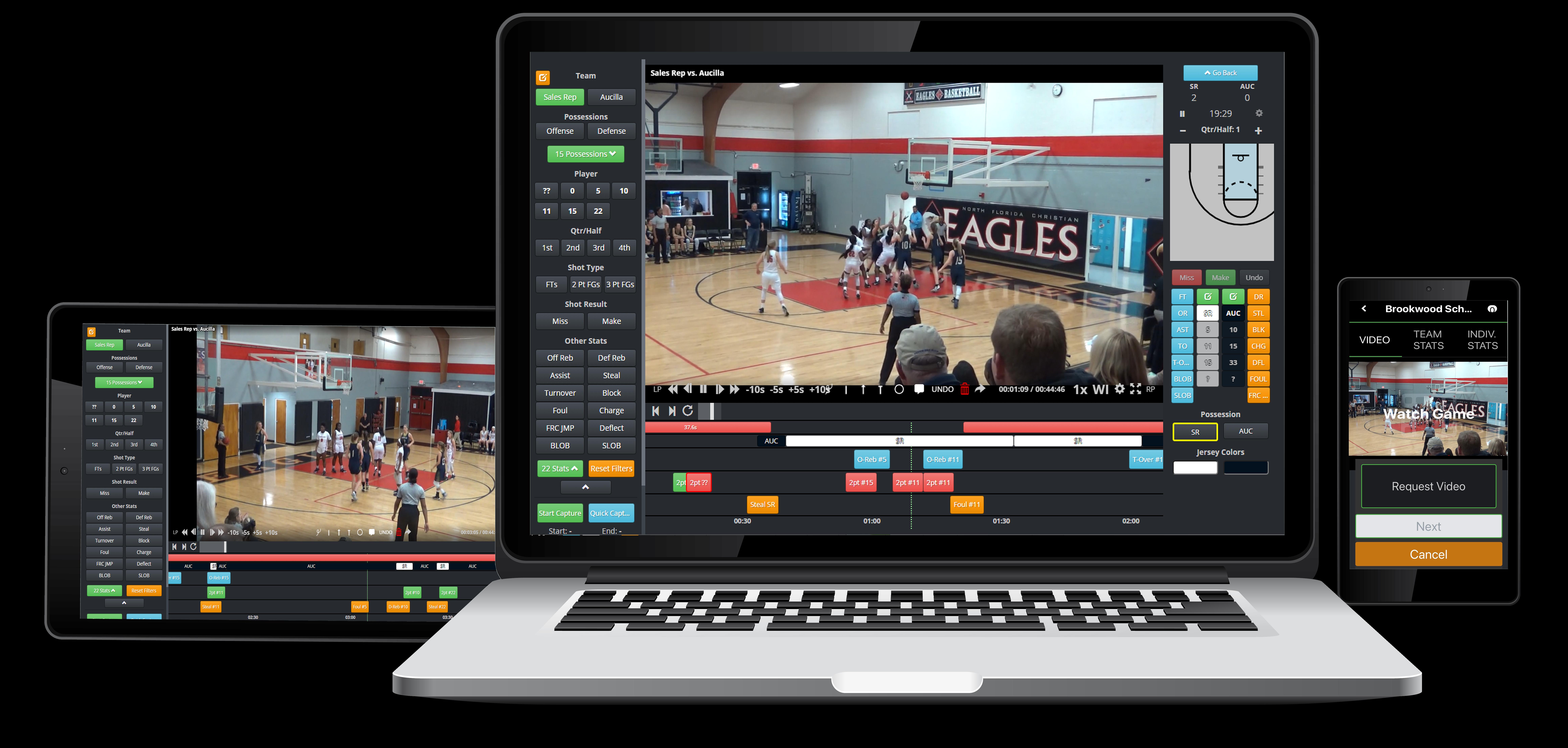 Basketball Platform on Mobile
